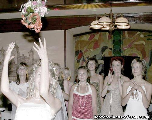 Поймать букет невесты на свадьбе примета что означает